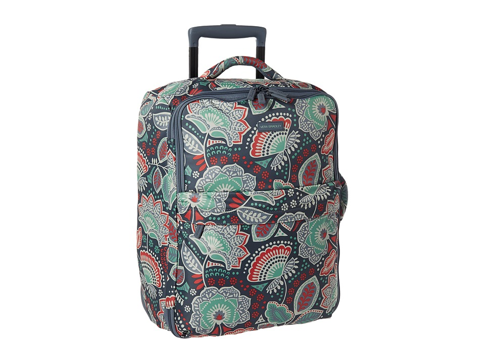 Vera Bradley Luggage - Small Foldable Roller (Nomadic Floral) Carry on Luggage