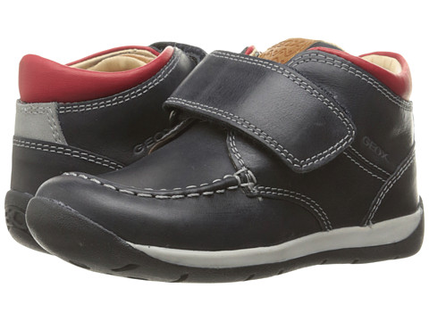 Geox Kids Baby Each Boy 10 (Infant/Toddler) - Navy