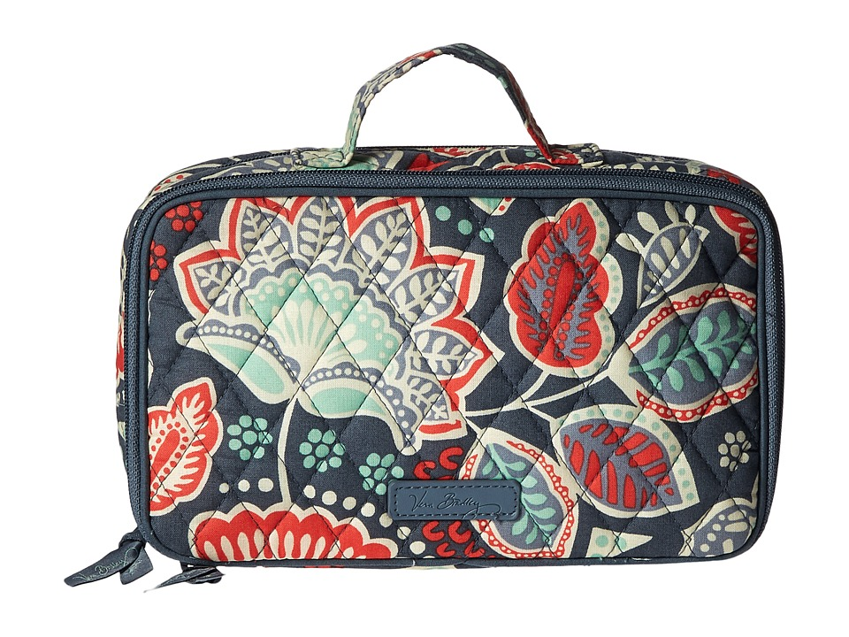 Vera Bradley Luggage - Blush Brush Makeup Case (Nomadic Floral) Cosmetic Case