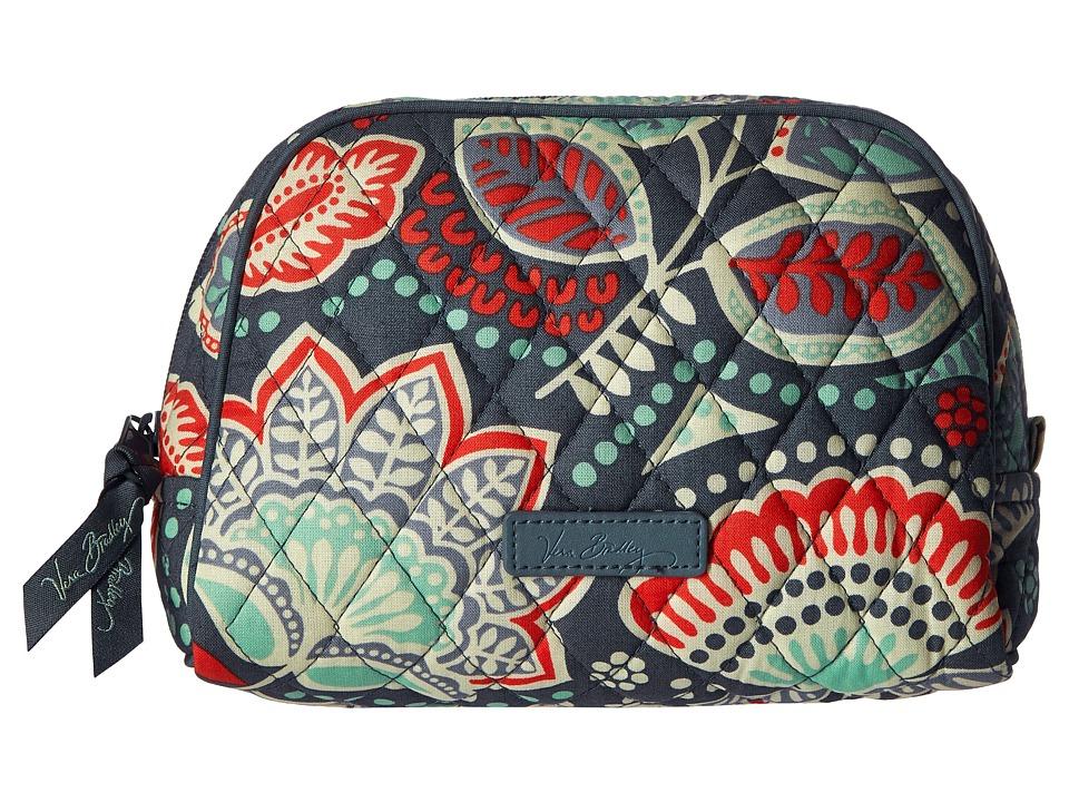 Vera Bradley Luggage Medium Zip Cosmetic Nomadic Floral Cosmetic Case