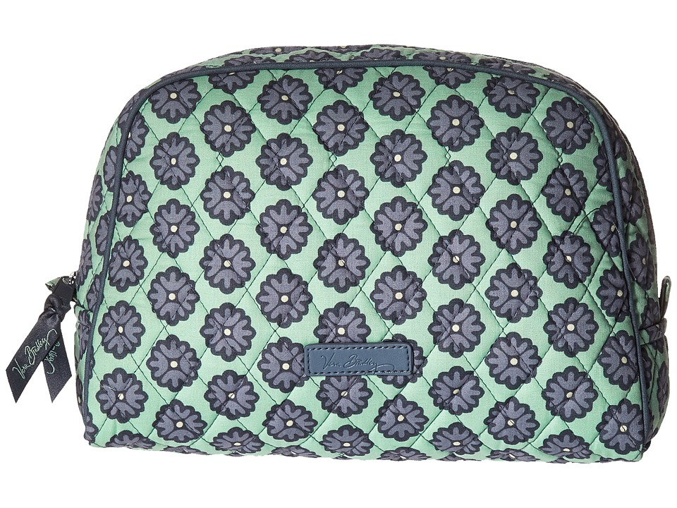 Vera Bradley Luggage - Large Zip Cosmetic (Nomadic Blossoms) Cosmetic Case
