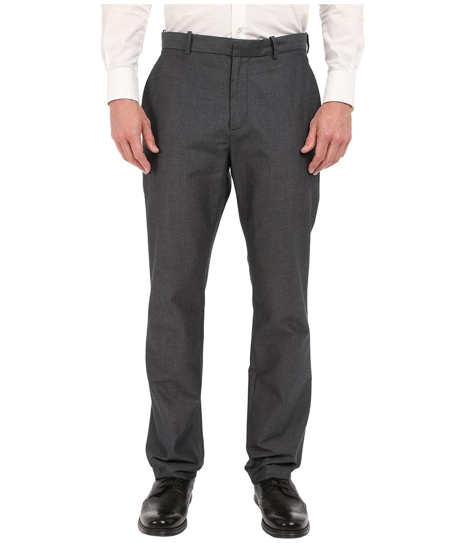 Perry Ellis Slim Fit Dobby Cotton Pants Dark Sapphire Mens Casual Pants