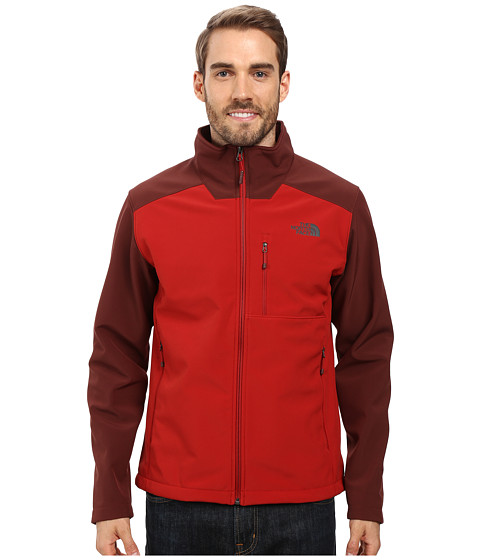 The North Face Apex Bionic 2 Jacket - Cardinal Red/Sequoia Red