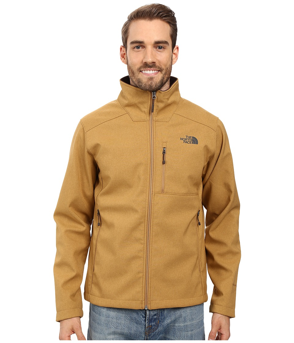The North Face Apex Bionic 2 Jacket (Dijon Brown Heather/Dijon Brown Heather (Prior Season)) Men