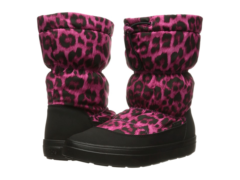 Crocs LodgePoint Pull-On Boot (Berry) Women