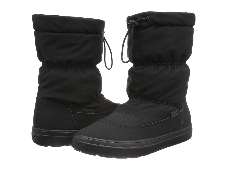 Crocs - LodgePoint Pull-On Boot (Black) Women