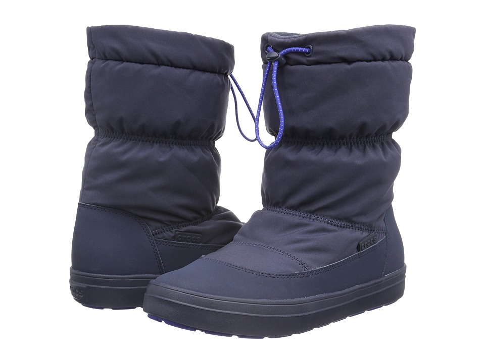 Crocs - LodgePoint Pull-On Boot (Navy) Women