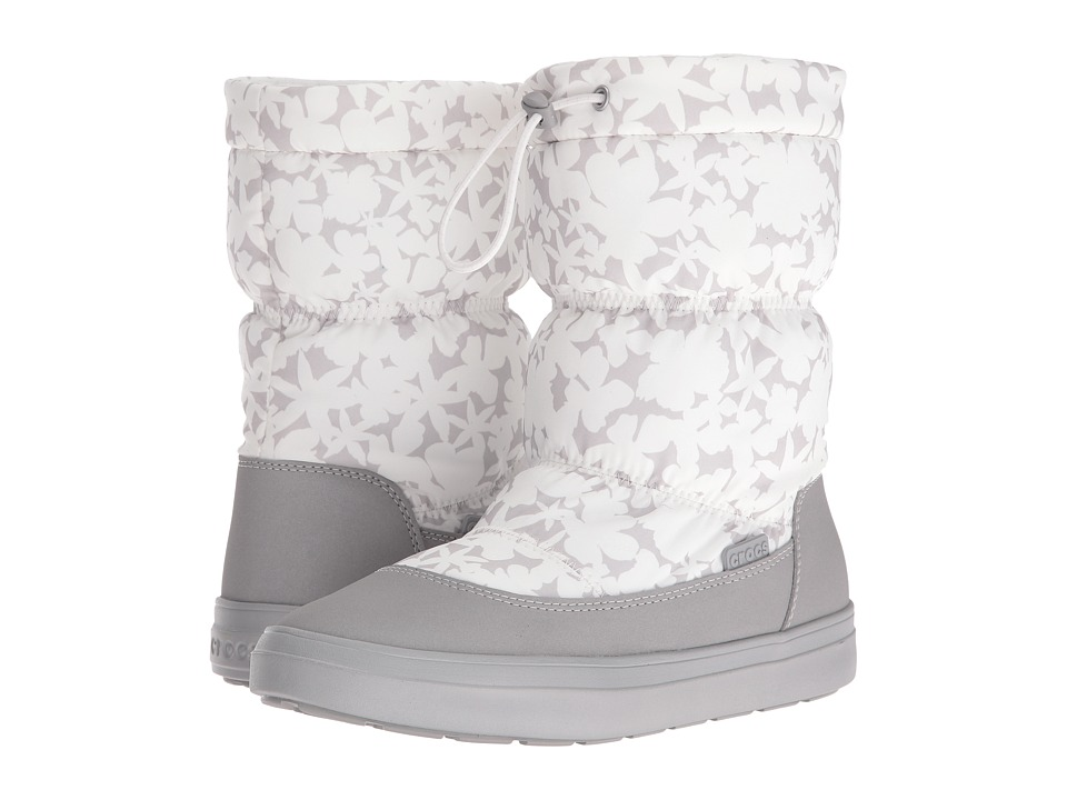 Crocs LodgePoint Pull-On Boot (Oyster) Women