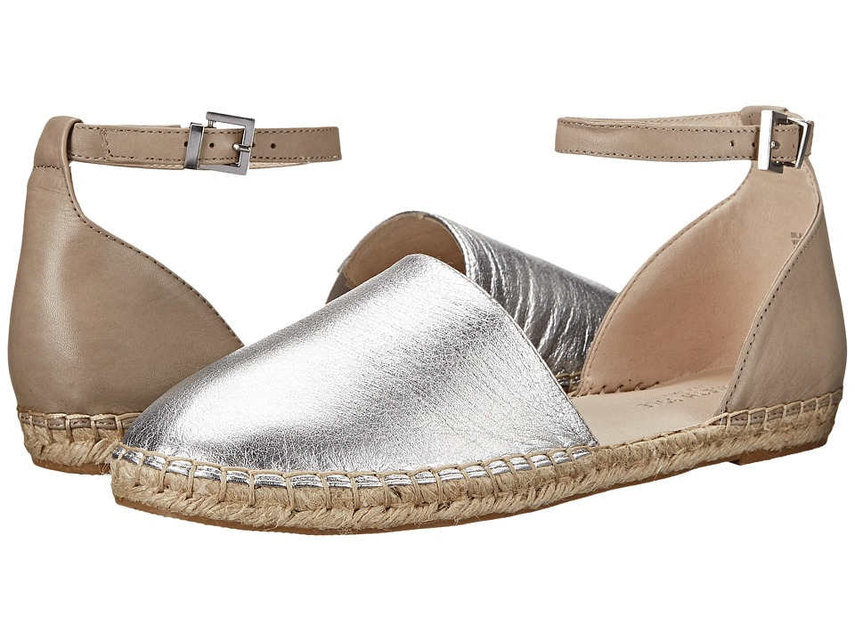 Kenneth Cole New York Blair Silver/Pietra Womens Flat Shoes