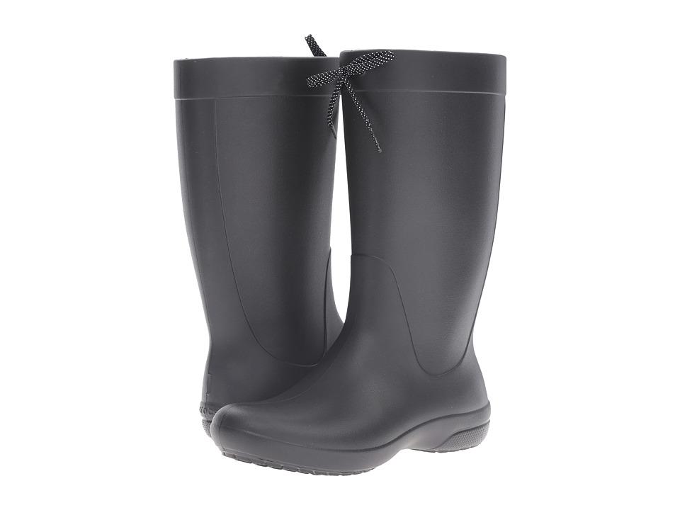 Crocs Freesail Rain Boot (Black) Women