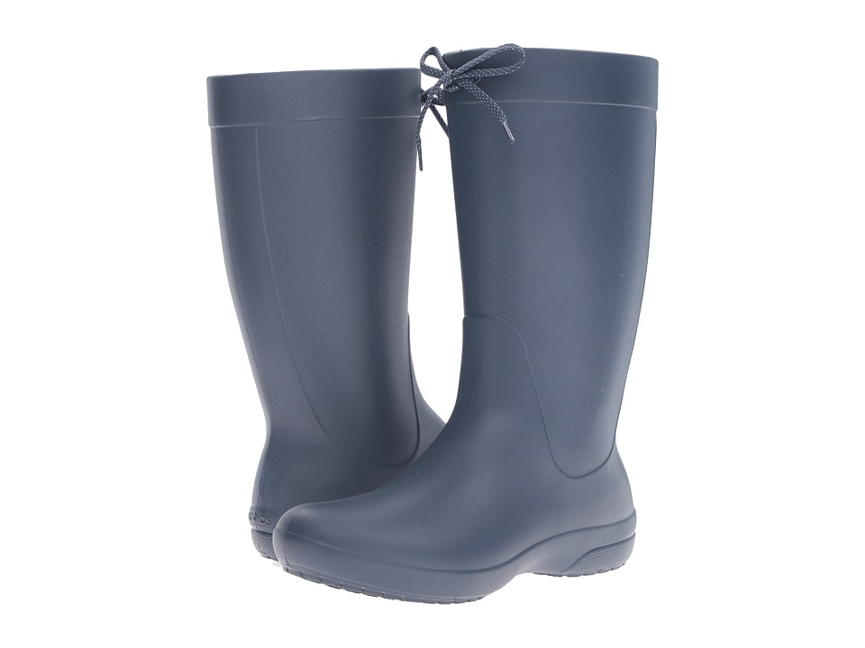 Crocs Freesail Rain Boot (Navy) Women