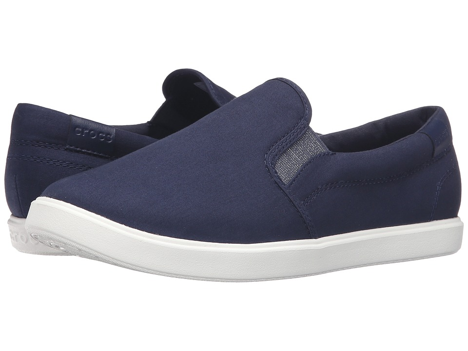 Crocs - CitiLane Slip-On Sneaker (Navy) Women