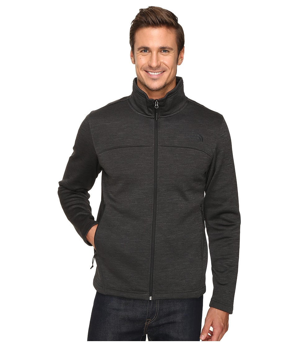 The North Face Schenley Full Zip (TNF Dark Grey Heather) Men