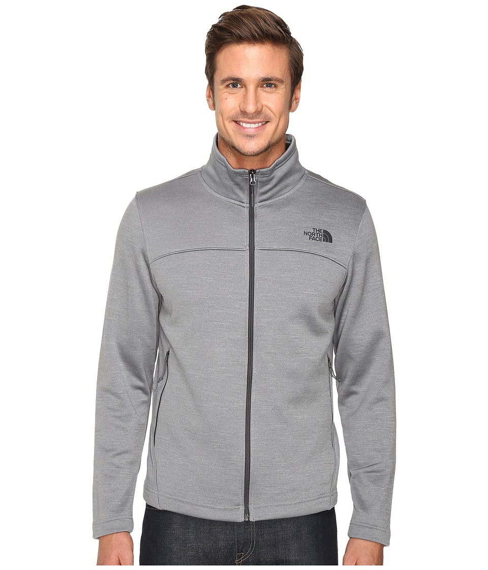 The North Face Schenley Full Zip (TNF Medium Grey Heather) Men
