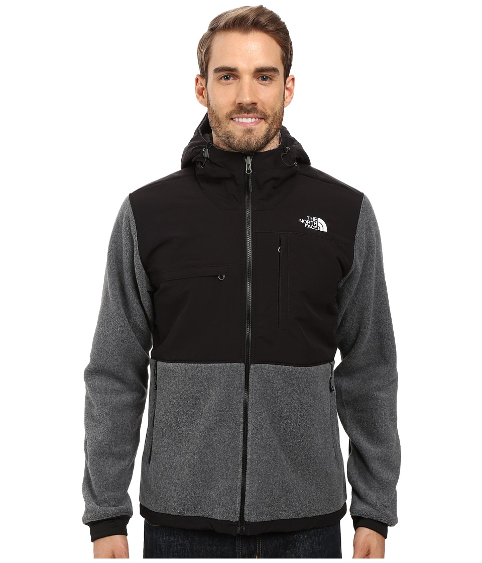 North Face Denali 2 Hoodie (Recycled Charcoal Grey Heathe...