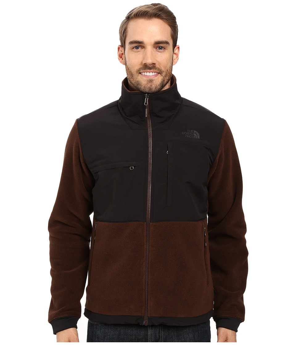 The North Face Denali 2 Jacket (Recycled Coffee Bean Brown/TNF Black (Prior Season)) Men