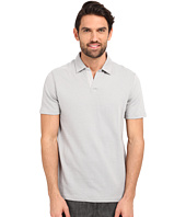 Perry Ellis - Open Collar Jacquard Polo
