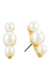 Rebecca Minkoff - Three Bead Post Earrings