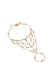 Rebecca Minkoff - Multi Beaded Handchain Bracelet