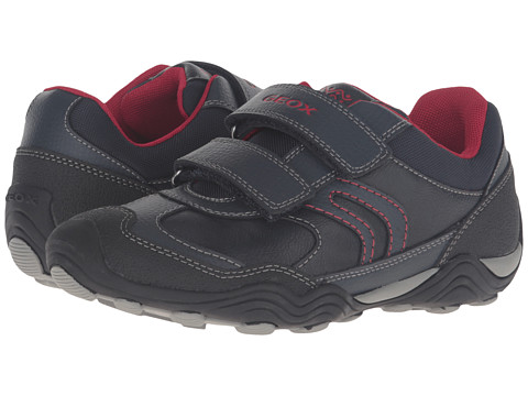 Geox Kids Jr Arno 14 (Toddler/Little Kid) - Navy/Red