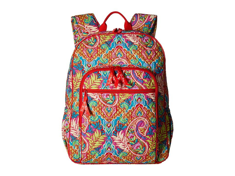 Vera Bradley Campus Backpack Paisley in Paradise Backpack Bags