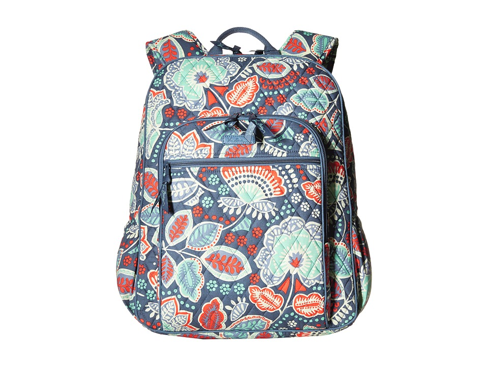 Vera Bradley - Campus Backpack (Nomadic Floral) Backpack Bags