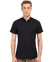 The Kooples - Paper Popeline Short Sleeve Shirt