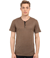 The Kooples - Thin Linen Jersey Henley