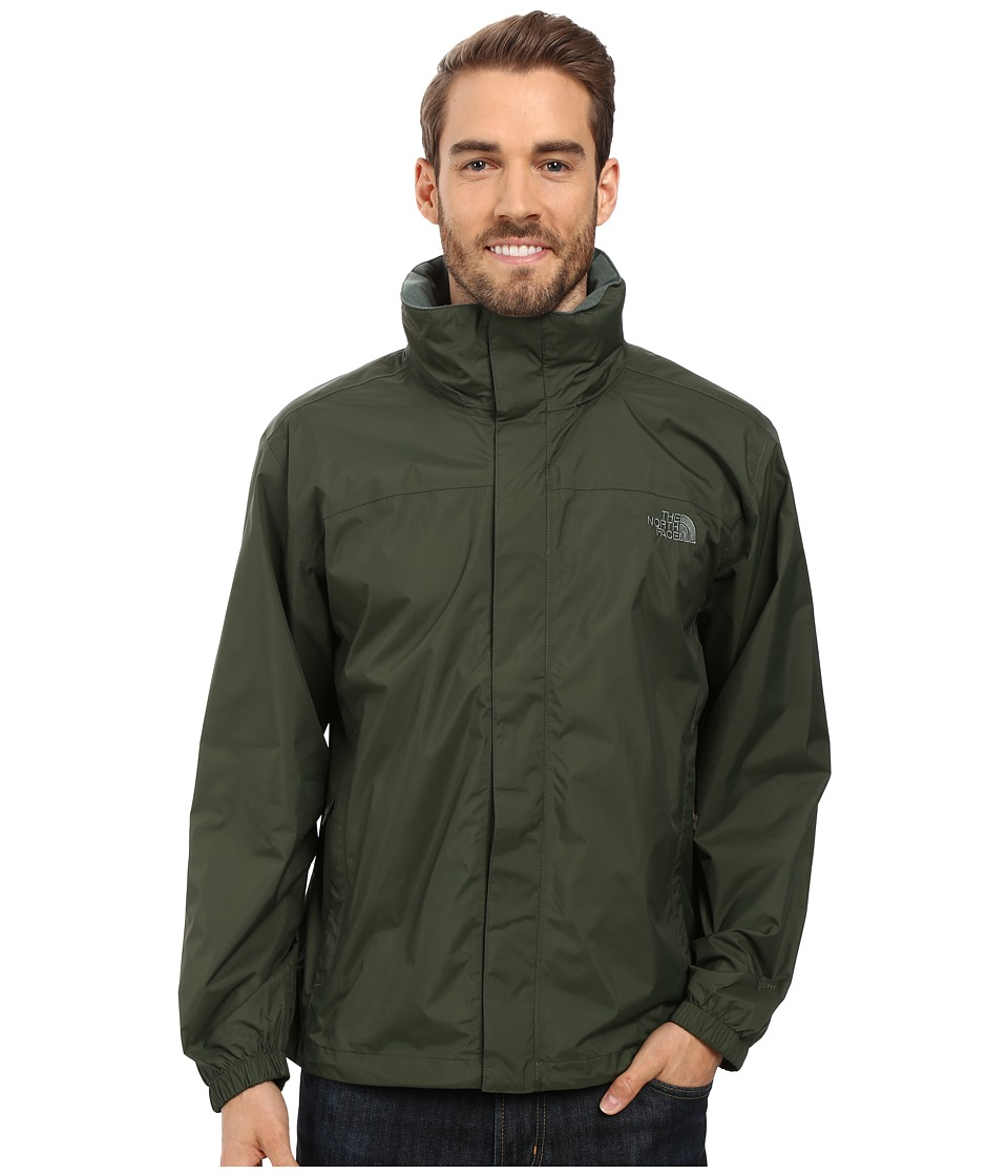 The North Face Resolve Jacket (Climbing Ivy Green) Men