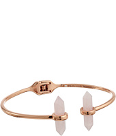 Rebecca Minkoff - Raw Crystal Hinge Bracelet