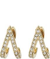 Rebecca Minkoff - V Huggie Earrings