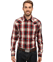 Stetson - Ranch Plaid Dobby Long Sleeve Woven Snap Shirt