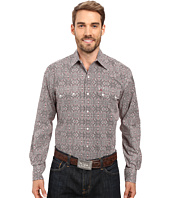 Stetson - Mirror Medallion Long Sleeve Woven Snap Shirt