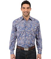 Stetson - Brocade Paisley Long Sleeve Woven Snap Shirt