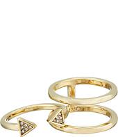 Rebecca Minkoff - Triangle Puzzle Ring