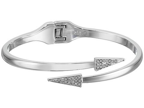 Rebecca Minkoff Pave Triangle Hinge Bracelet