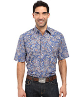 Stetson - Brocade Paisley Short Sleeve Woven Snap Shirt