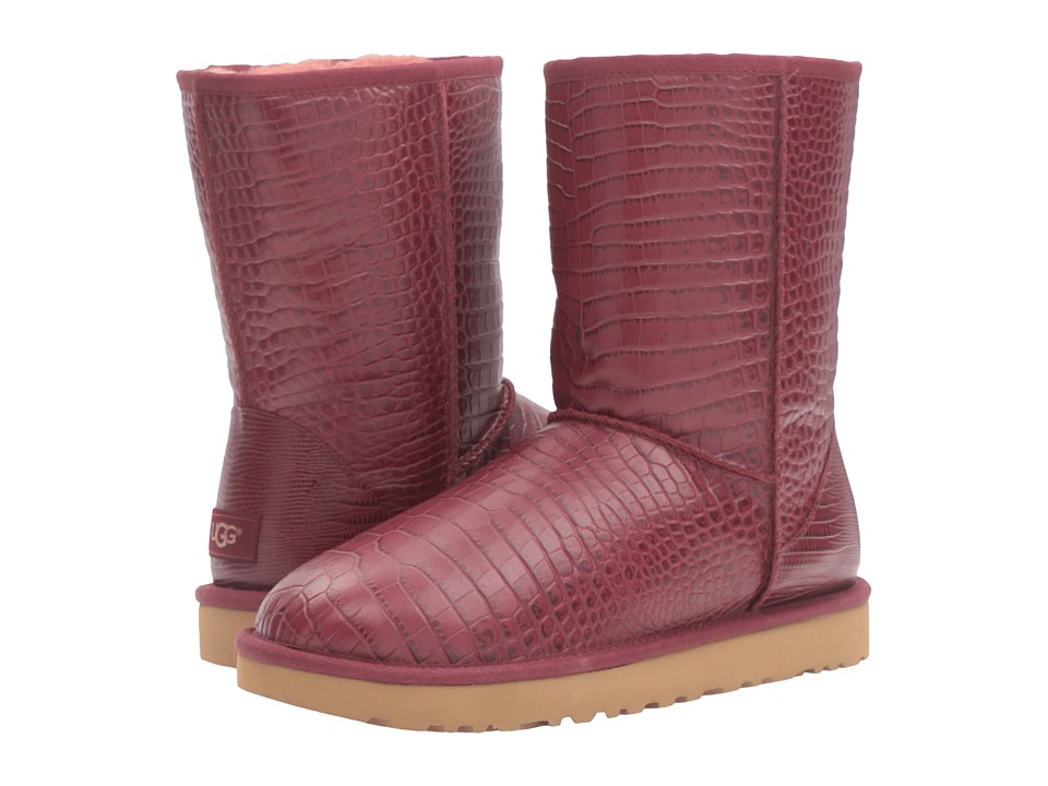 UGG Classic Short Croco (Lonely Hearts) Women