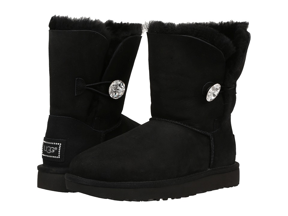 Ugg Bailey Button Bling (Black 2) Women's Boots