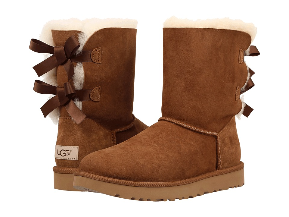 brown ugg bailey bow