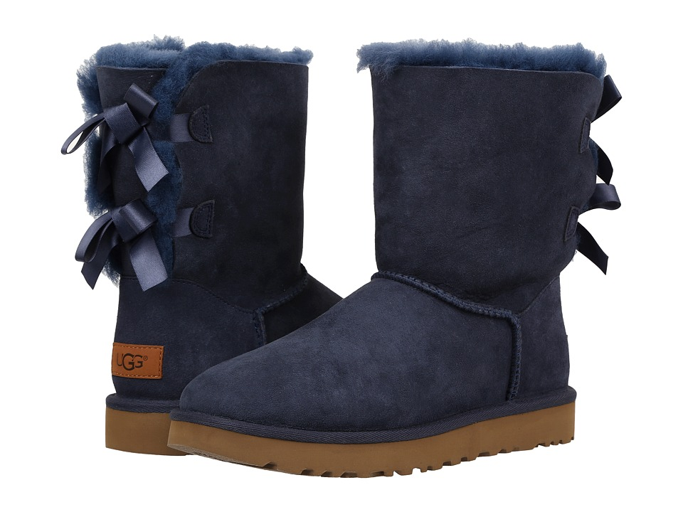 Ugg Bailey Bow II (Navy) Women's Boots