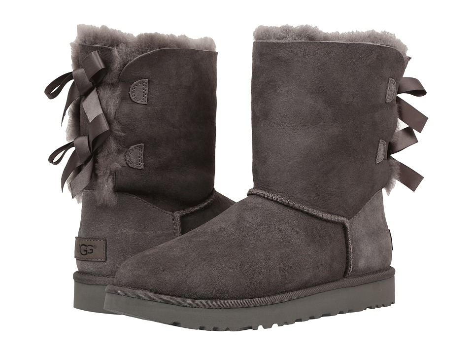 Ugg Bailey Bow II (Grey) Women's Boots