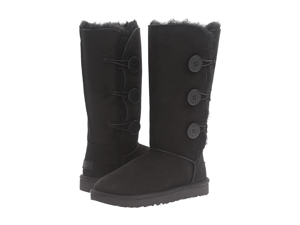 Ugg Bailey Button Triplet II (Black) Women's Boots