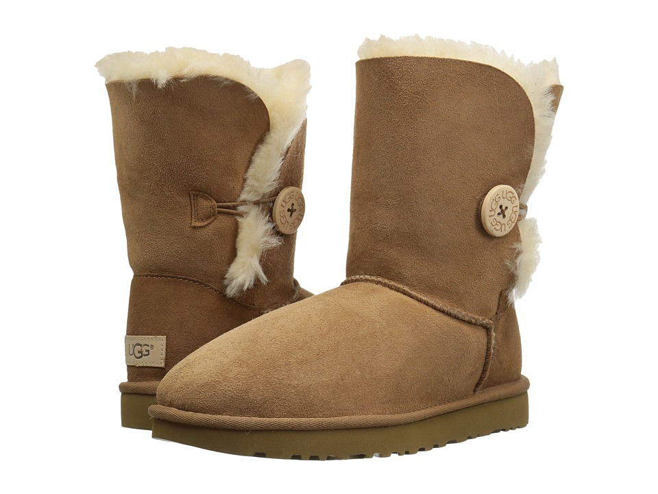 Ugg Bailey Button II (Chestnut) Women's Boots
