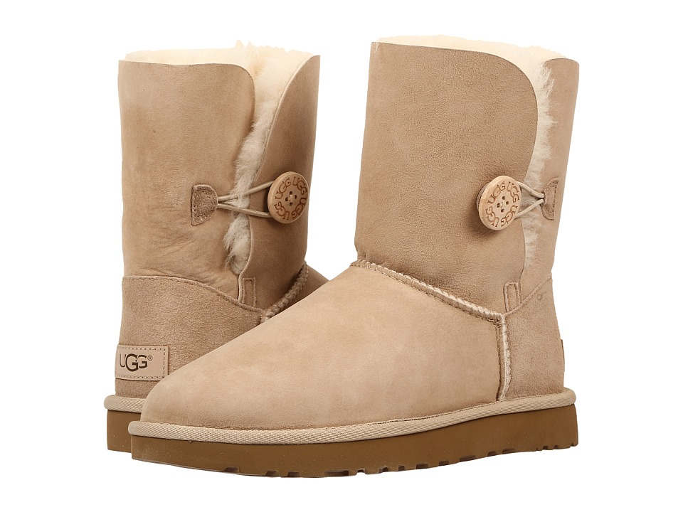 Ugg Bailey Button II (Sand) Women's Boots