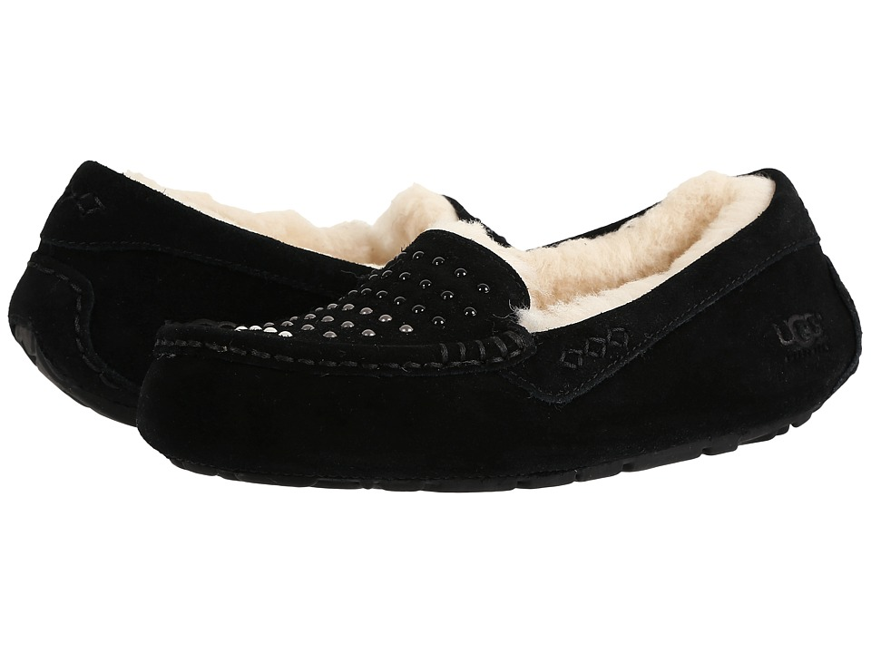 UGG - Ansley Pearls (Black) Women