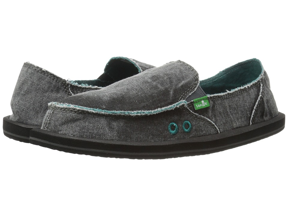 Sanuk - Donna Distressed (Dark Charcoal) Women
