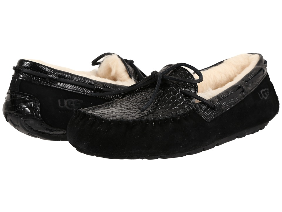 UGG - Dakota Croco (Black) Women