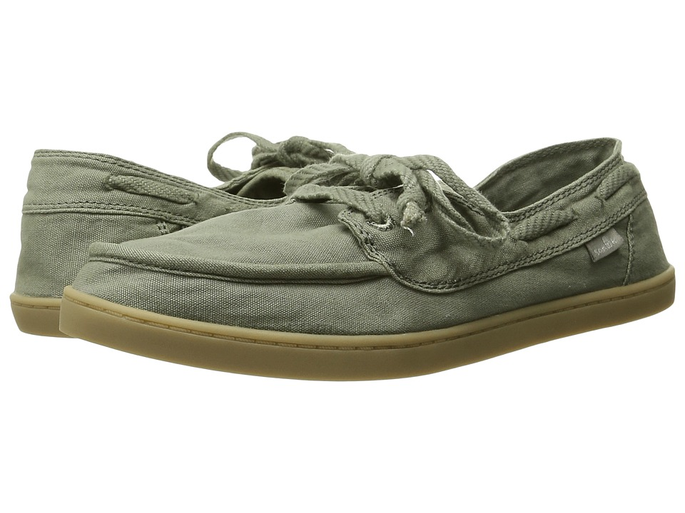 Sanuk - Pair O Sail (Olive) Women