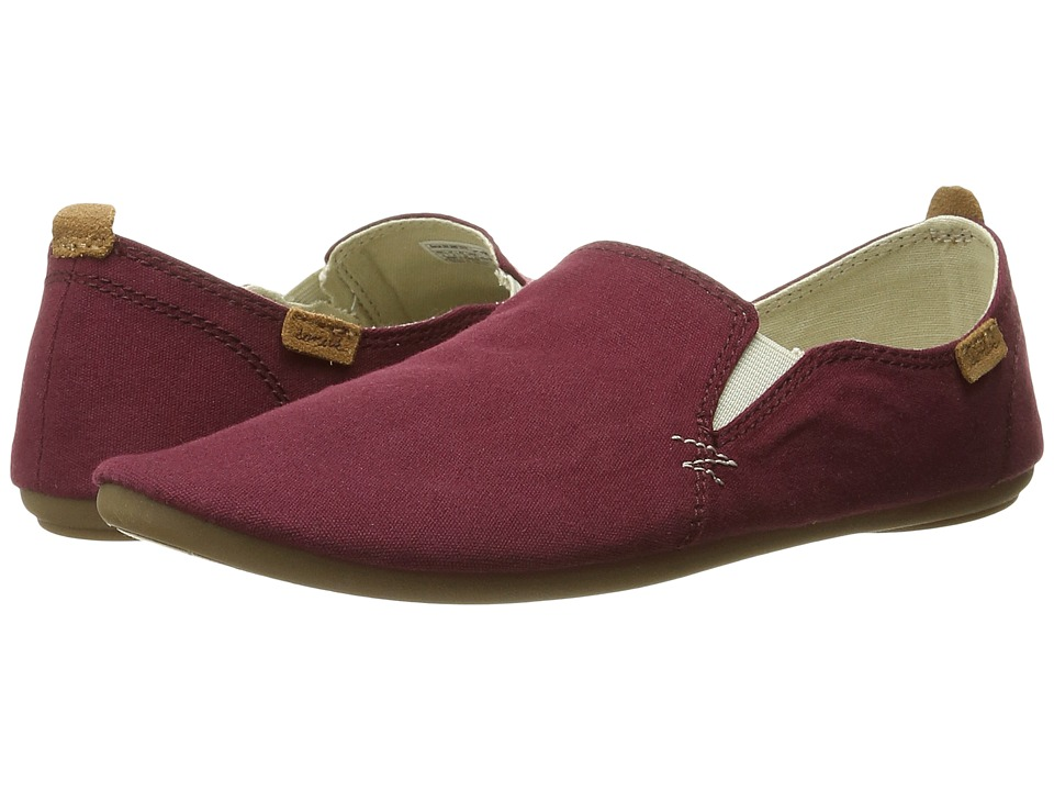 Sanuk - Isabel (Burgundy) Women